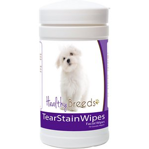 Healthy Breeds Maltese Tear Stain Dog Wipes