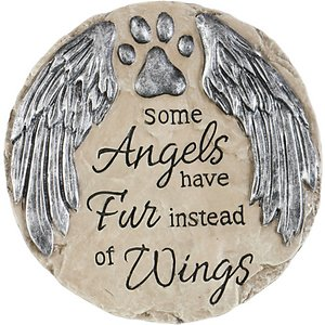 Carson Industries Angels Have Fur Dog & Cat Memorial Stone