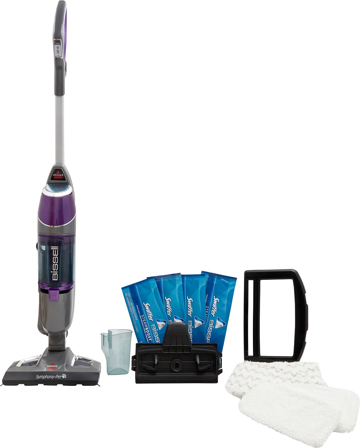 Bissell Symphony All In One Pet Vacuum Steam Mop Multi Purpose Mops Chewy Com