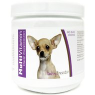 Healthy Breeds Chihuahua Multivitamin Soft Chews Dog Supplement, 60 count