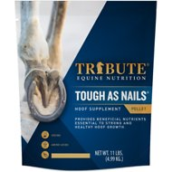 Tribute Equine Nutrition Tough As Nails Hoof Health Pellets Horse Supplement, 11-lb bag
