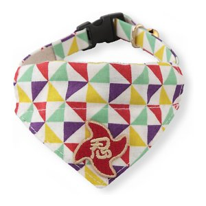 Necoichi Ninja Bandana Cotton Breakaway Cat Collar with Bell, Yellow, 8.2 to 13.7-in neck, 2/5-in wide; Make your feline friend stand out from the crowd with Necoichi's Ninja Cat Bandana Collar. This collar is made from comfortable cotton, polyester and PVC. It is soft, yet durable and features a unique Kimono pattern that's sure to show off your kitty's one-of-a-kind purr-sonality. This collar is one size fits most and includes a breakaway clip buckle for the safety of your paw-tner. Plus, it has a stylish bandana and bell, so you always know where your companion is!