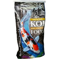 Blackwater Premium Koi and Goldfish Food Gold-N Medium Pellet Fish Food, 40-lb bag