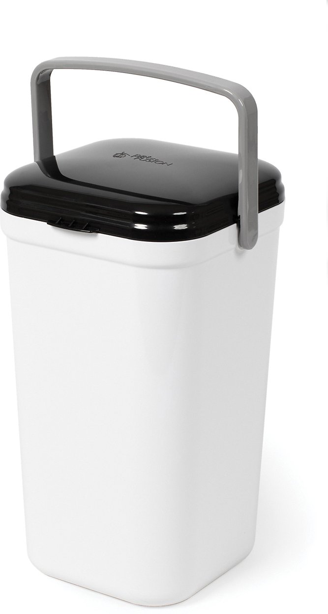 EASY CLEANING Odor Free CAT Toilet Litter Box DISPOSAL PAIL Container Bin SCOOP