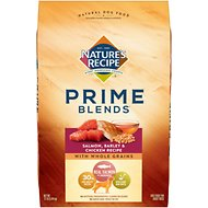 Nature's Recipe Prime Blends Salmon, Barley & Chicken Recipe Dry Dog Food