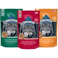 Blue Buffalo Wilderness Trail Treats Grain-Free Variety Pack Crunchy Dog Treats Biscuits, 10-oz bag, 3 count