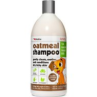Petkin Oatmeal Dog Shampoo, 32-oz bottle