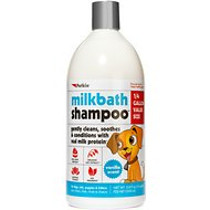 Petkin MilkBath Dog Shampoo, 32-oz bottle