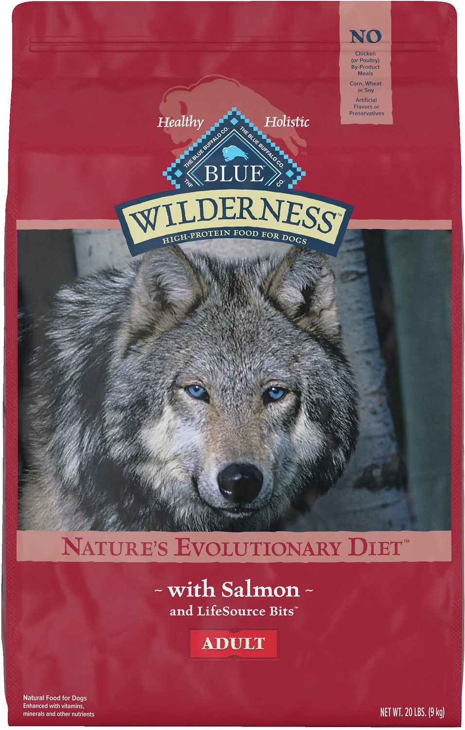 Blue Buffalo Wilderness with Salmon Adult