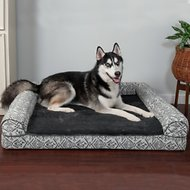 FurHaven Southwest Kilim Cat & Dog Bed