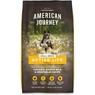 American Journey Active Life Formula Small Breed Chicken, Brown Rice & Vegetables Recipe Adult Dry Dog Food, 14-lb bag