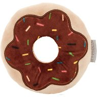 Frisco Chocolate Frosted Donut Dense Foam Squeaky Dog Toy