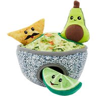 Frisco Hide and Seek Plush Guacamole Dog Toy