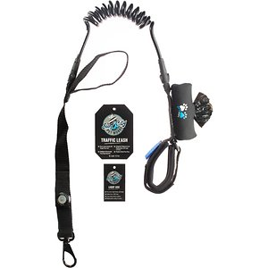 Surf City Pet Works Traffic Reflective Bungee Hands-Free Running Dog Leash