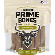 Purina Prime Bones Limited Ingredient Chew Stick with Wild Venison Dog Treats, Medium