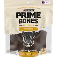 Purina Prime Bones Filled Chew with Wild Boar Medium Dog Treats
