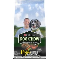 Dog Chow High Protein Recipe With Real Lamb & Beef Flavor Dry Dog Food, 3.5-lb bag
