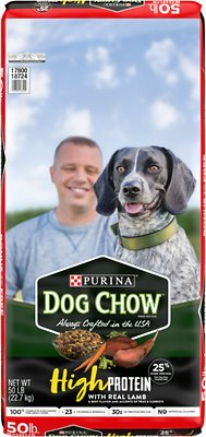 6. Dog Chow High Protein
