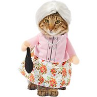 Frisco Front Walking Granny Dog & Cat Costume, Small