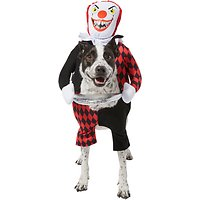 Frisco Front Walking Killer Clown Dog & Cat Costume