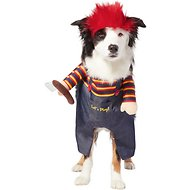 Frisco Front Walking Killer Doll Dog & Cat Costume (XX-Large)