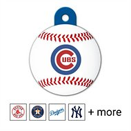 Quick-Tag Personalized MLB Circle Dog & Cat ID Tag, Large