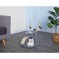 Go Pet Club 22-in Cat Tree Condo & Scratching Pad
