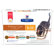 Hill's Prescription Diet k/d Kidney Care Variety Pack Wet & Dry Cat Food