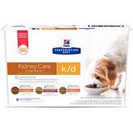 Hill's Prescription Diet k/d Kidney Care Variety Pack Wet & Dry Dog Food