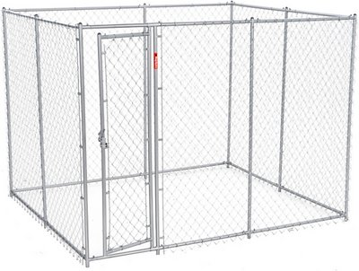 Lucky Dog Chain Link Dog Kennel