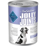 Blue Buffalo True Solutions Jolly Joints Mobility Support Formula Wet Dog Food, 12.5-oz, case of 12