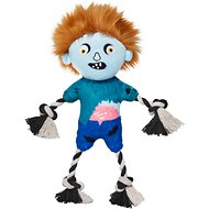 Frisco Zombie Boy Plush with Rope Squeaky Dog Toy