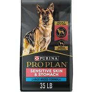 Purina Pro Plan Sensitive Skin & Stomach Salmon Adult Large Breed Formula Dry Dog Food, 35-lb bag