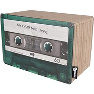 District 70 Mix Tape Cardboard Small Cat Scratcher Toy