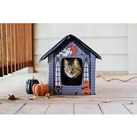 K&H Pet Products Haunted Halloween Heated Cat House Deals