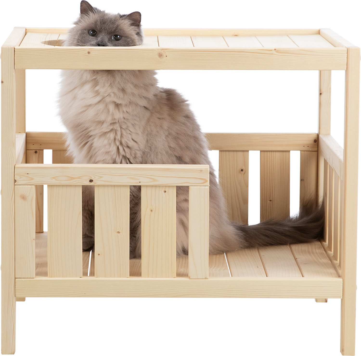 Trixie Natura Indoor Cat House Chewy Com