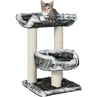 Trixie Isaba 24.4-in Fleece Double Platform Cat Scratching Post
