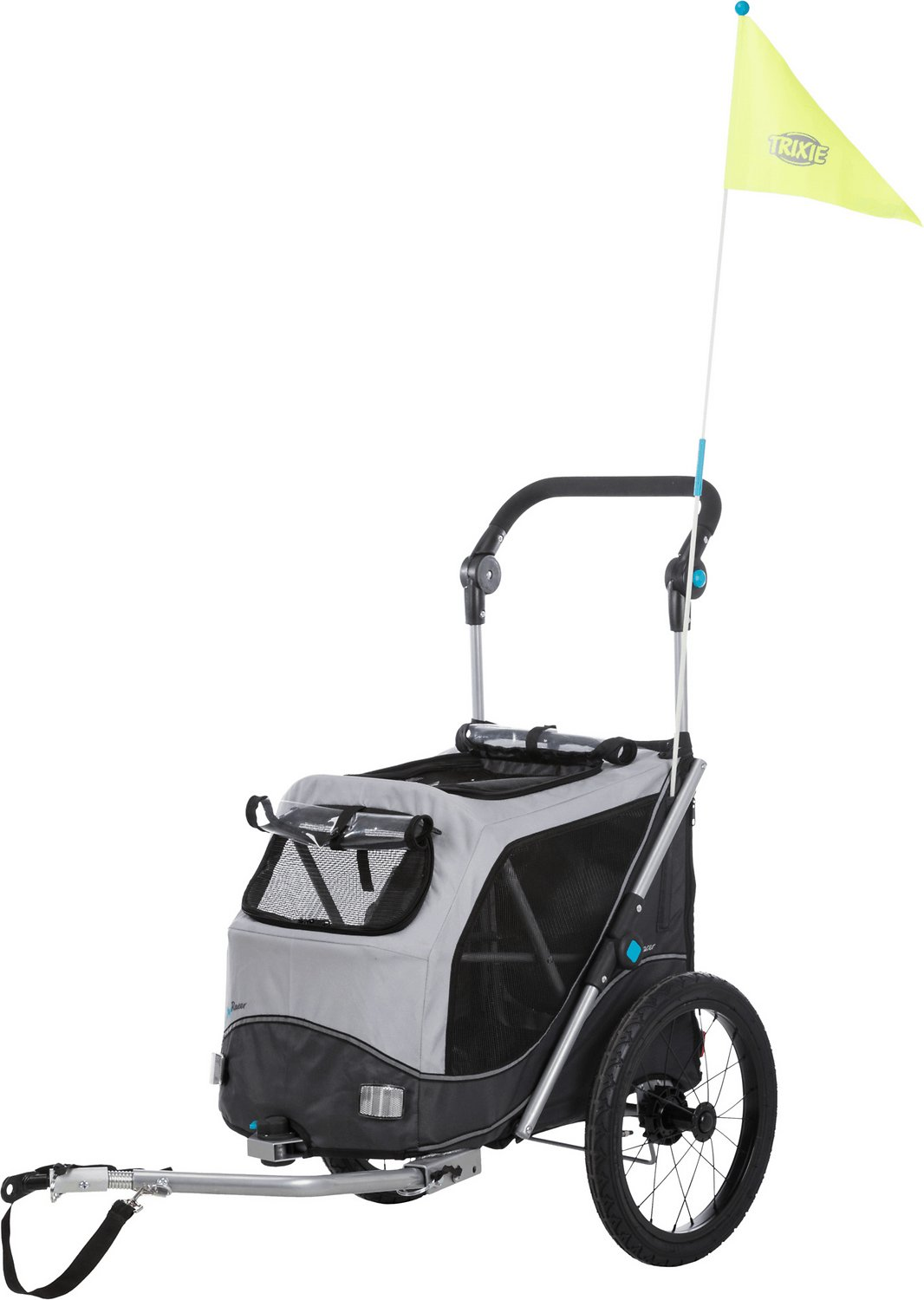 Trixie Premium Quick Fold Dog Bike Trailer