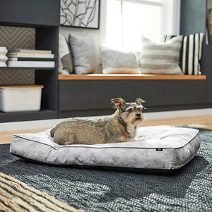 Disney Mickey Pillow Cat & Dog Bed, Gray Patterned, Large