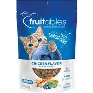 Fruitables Chicken Flavor with Blueberry Cat Treats, 2.5-oz bag