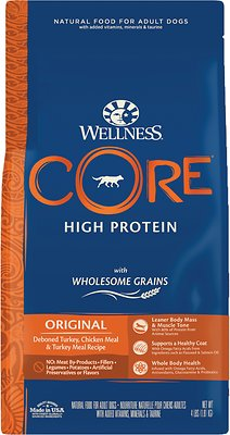 2. Wellness CORE Wholesome Grains Original Recipe