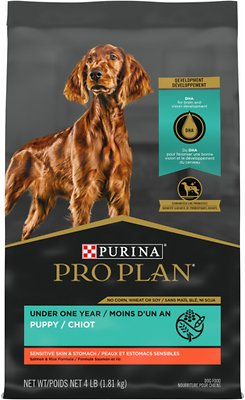 5. Purina Pro Plan Puppy Sensitive Skin & Stomach Food