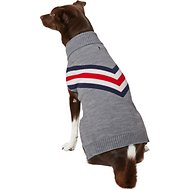 Frisco Chevron Dog & Cat Turtleneck Sweater