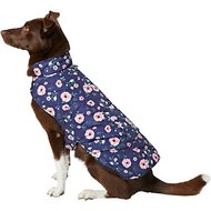 Frisco Patterned Floral Insulated Dog & Cat Puffer Coat