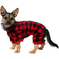 Frisco Plaid Dog & Cat Cozy Fleece PJs
