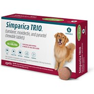 Simparica Trio Chewable Tablet for Dogs, 44.1-88 lbs, (Green Box)