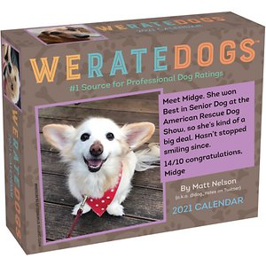 WeRateDogs 2021 Day-to-Day Calendar