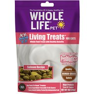 Whole Life Living Treats Salmon Recipe Freeze-Dried Cat Treats, 1-oz bag