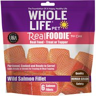 Whole Life RealFoodie Wild Salmon Fillet Cat Treats & Topper
