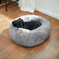 Frisco Eyelash Cat & Dog Bolster Bed